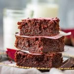 Dark Chocolate Beet Brownies Recipe