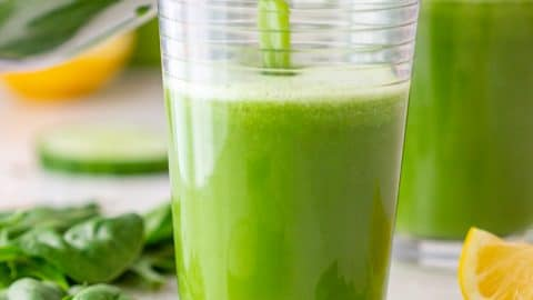 Detox Green Juice - Happy Foods Tube