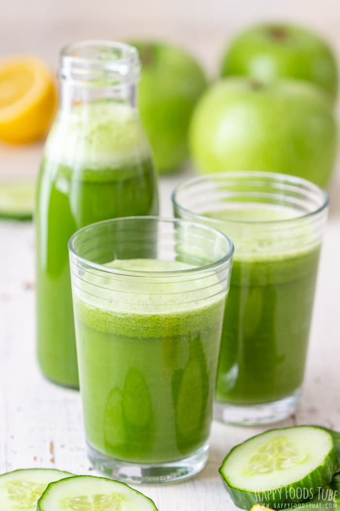 Freshly Made Detox Green Juice