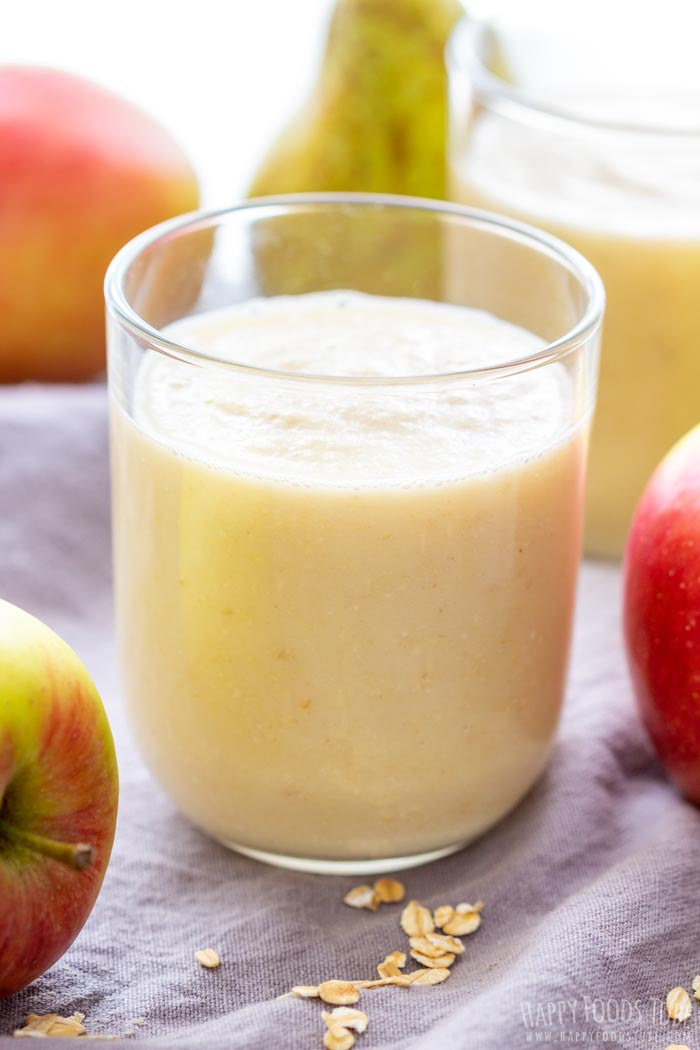 Dairy Free Apple Pear Ginger Smoothie