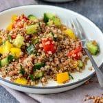 Healthy Buckwheat Salad Recipe