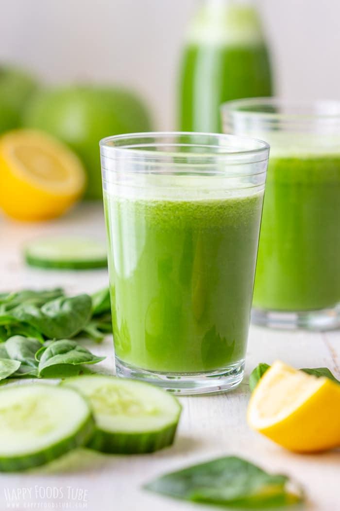 Detox Green Juice - Happy Foods Tube