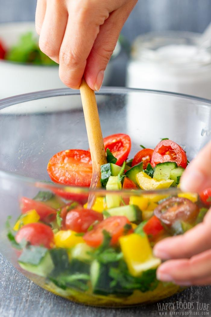 How to make Buckwheat Salad Step 2