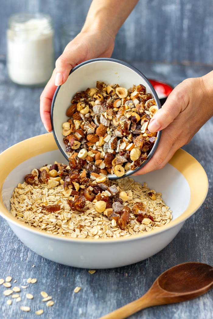 How to make Super Healthy Homemade Granola Step 1