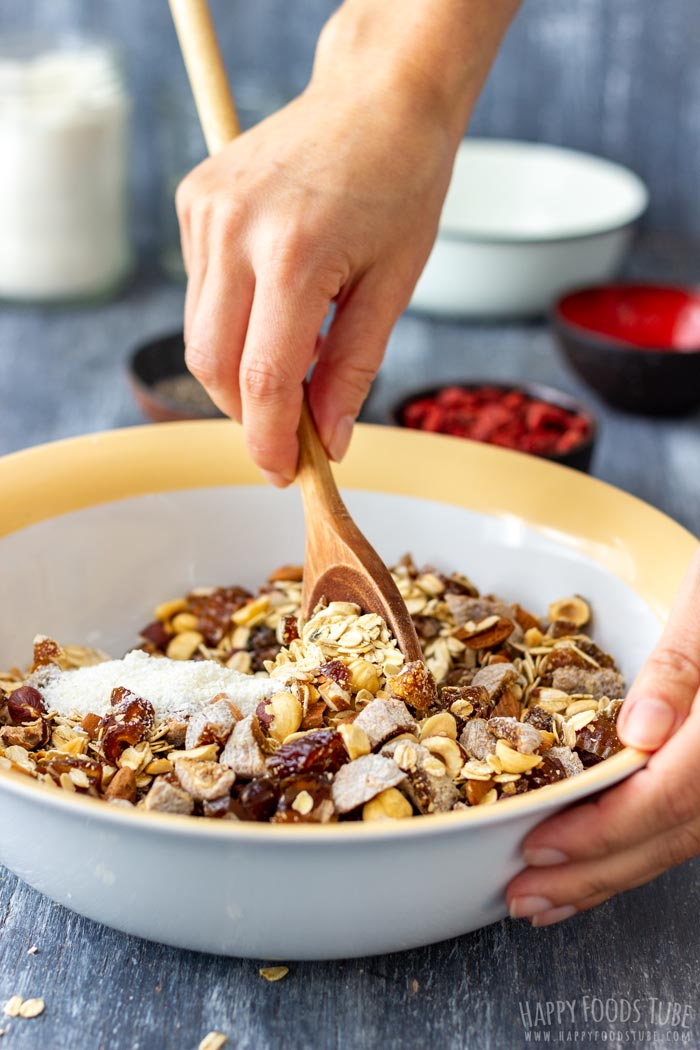 How to make Super Healthy Homemade Granola Step 2