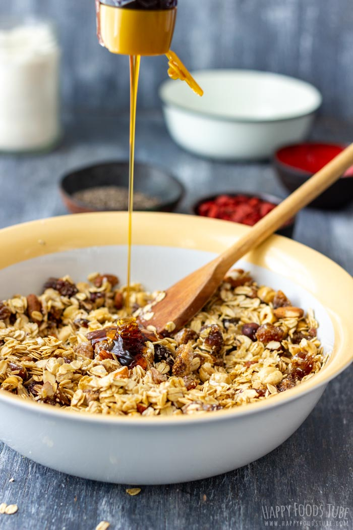 How to make Super Healthy Homemade Granola Step 4