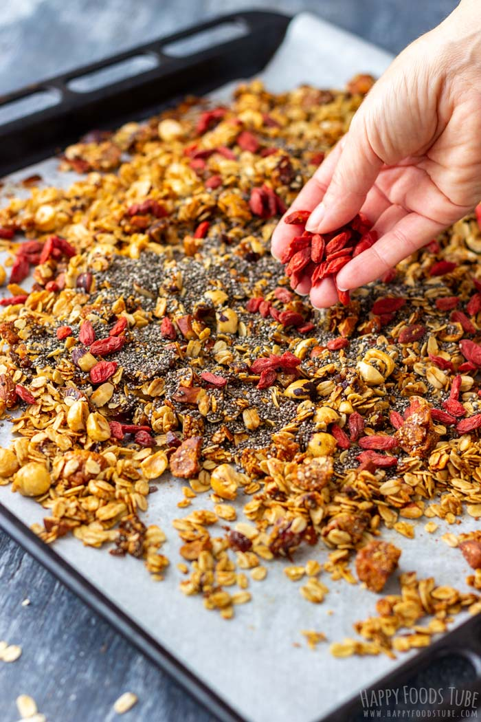 How to make Super Healthy Homemade Granola Step 6