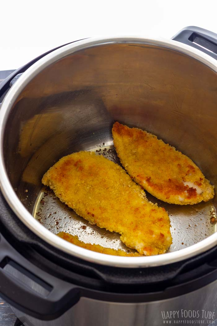 How to make Instant Pot Chicken Parmesan Step 2