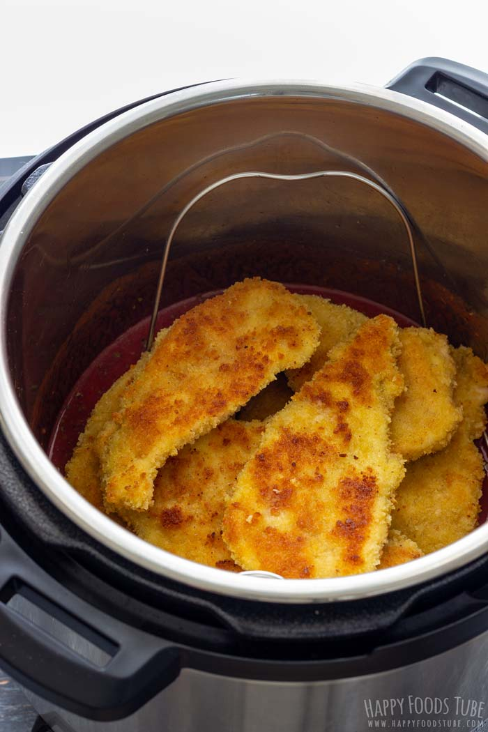 How to make Instant Pot Chicken Parmesan Step 5