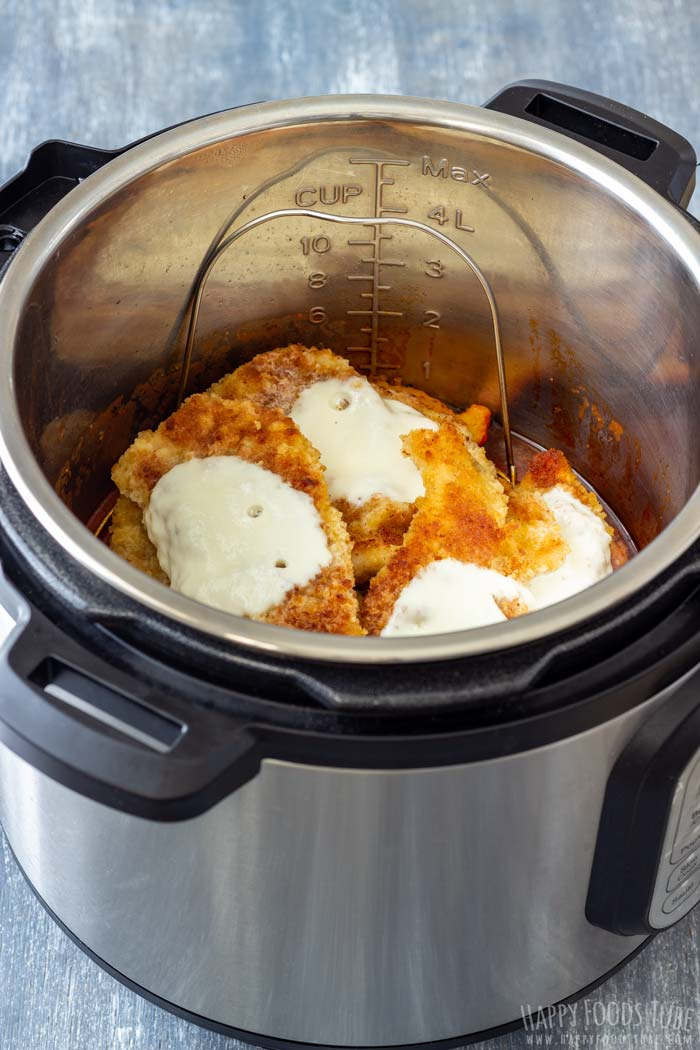 How to make Instant Pot Chicken Parmesan Step 6