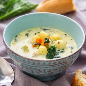 Creamy Instant Pot Chicken Gnocchi Soup