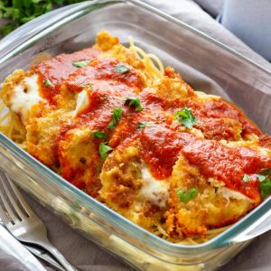 Easy Instant Pot Chicken Parmesan