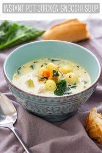 Instant Pot Pressure Cooker Chicken Gnocchi Soup Recipe