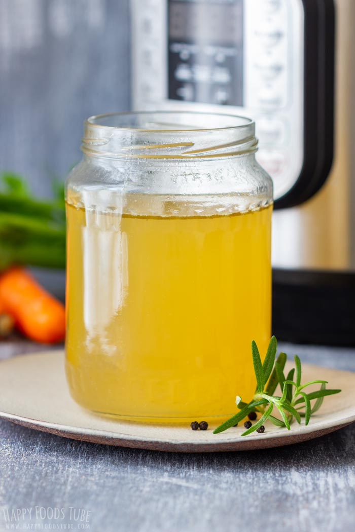Instant Pot Turkey Stock