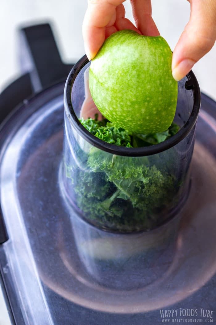 Juicing Apples for Detox Green Juice