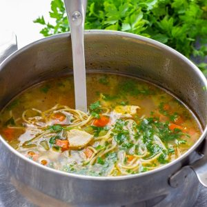 Easy Leftover Turkey Noodle Soup