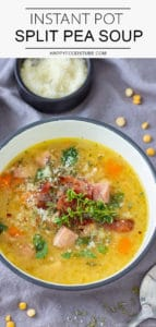 Instant Pot Pressure Cooker Split Pea Soup