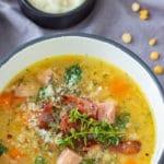 Instant Pot Pressure Cooker Split Pea Soup