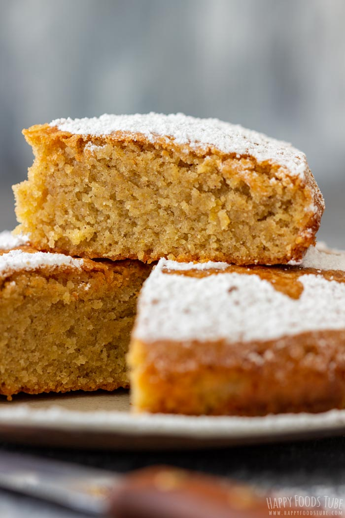 Sliced Spanish Almond Cake