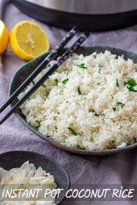 Best Instant Pot Coconut Rice Recipe