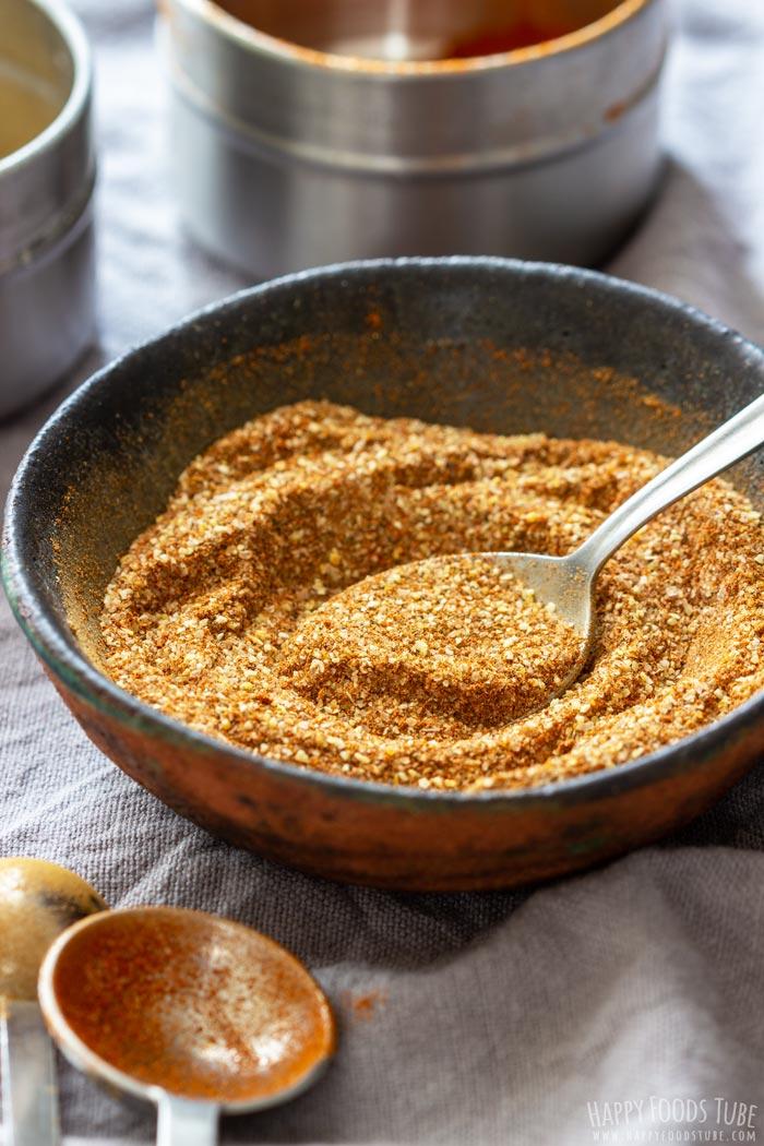 Dry Rub Recipe for Pork