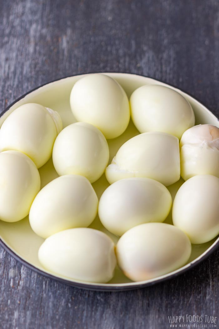 Hard Boiled Eggs for Egg Salad