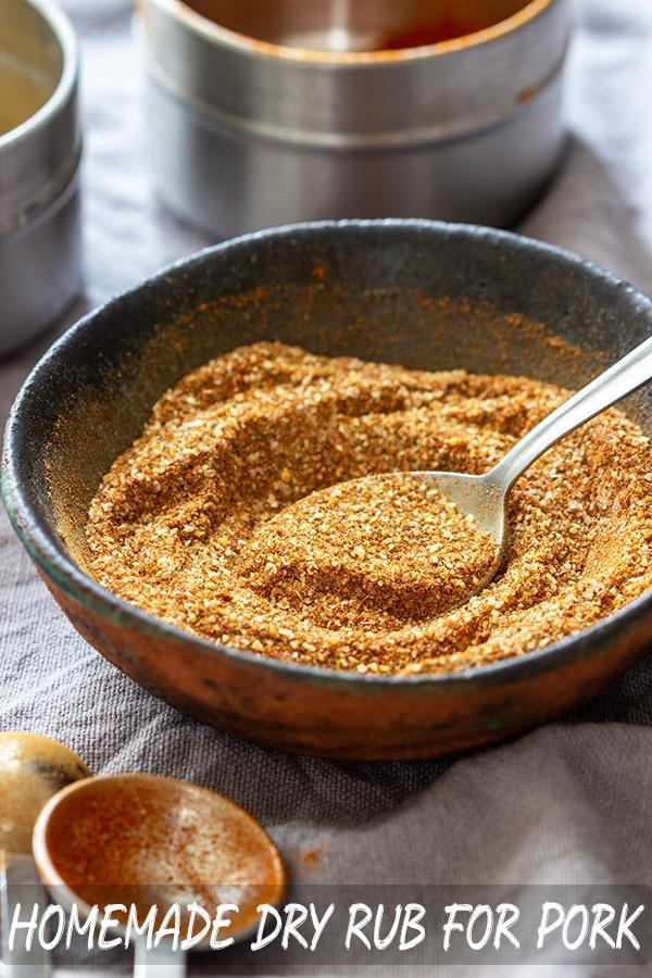 Homemade Dry Rub Recipe for Pork