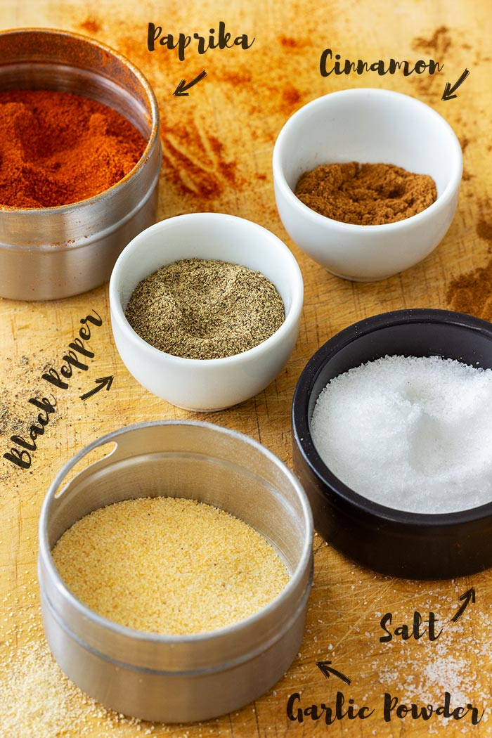Homemade Dry Rub Ingredients