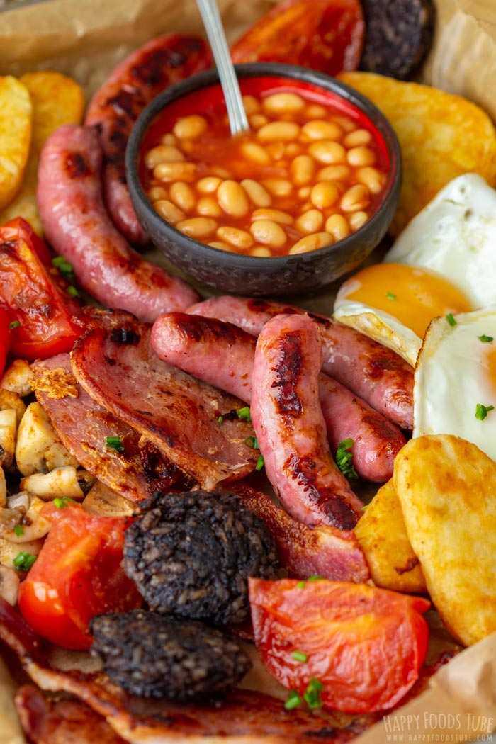 Homemade Full Irish Breakfast