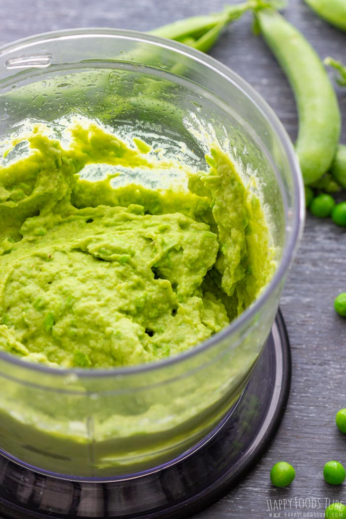 How to make Green Pea Hummus Step 2