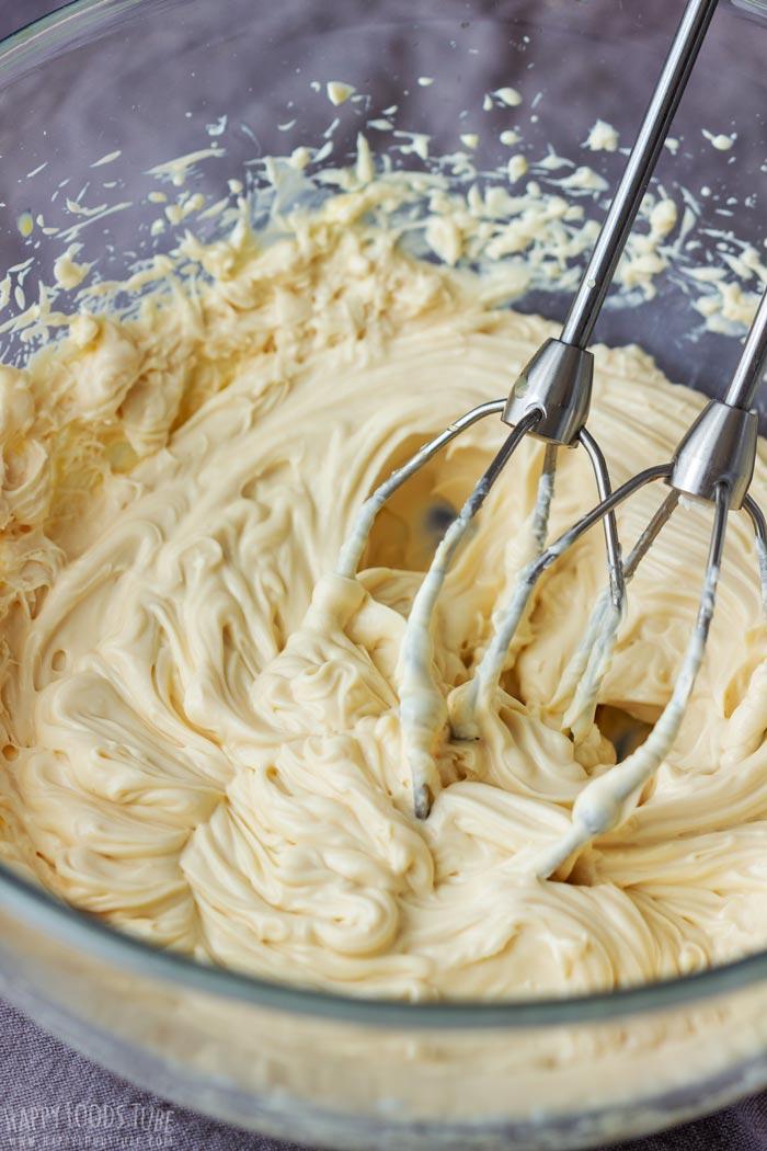 How to make No Bake Irish Cream Cheesecake Step 2