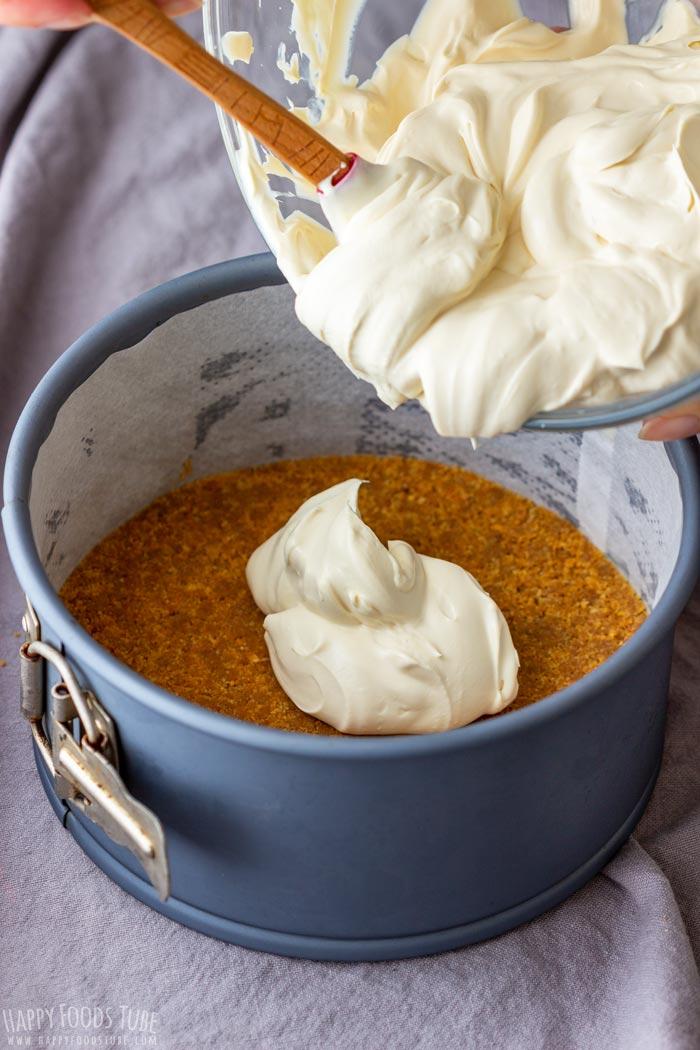 How to make No Bake Irish Cream Cheesecake Step 3