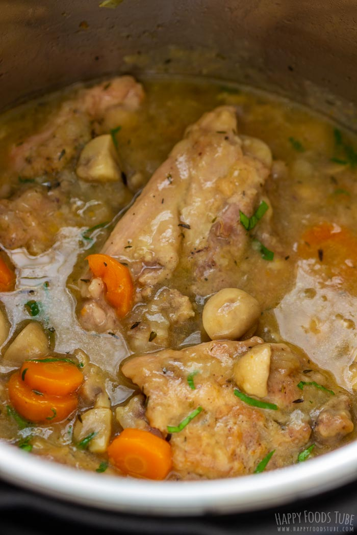 Instant Pot Chicken Chasseur for Dinner