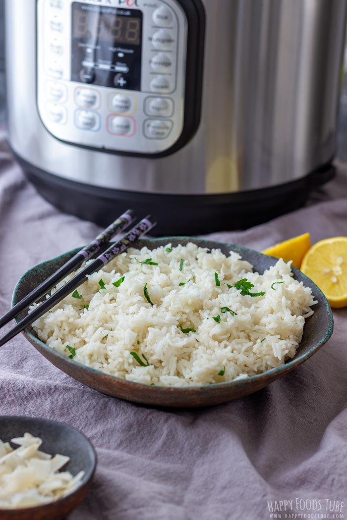 Instant Pot Pressure Cooker Coconut Rice
