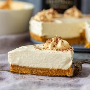 Best No Bake Irish Cream Cheesecake