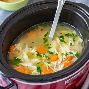 Best Slow Cooker Chicken Noodle Soup