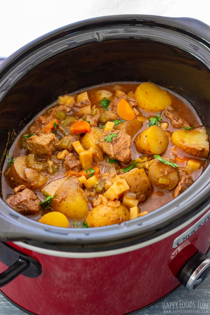Slow Cooker Guinness Beef Stew Recipe Crock Pot Beef Stew