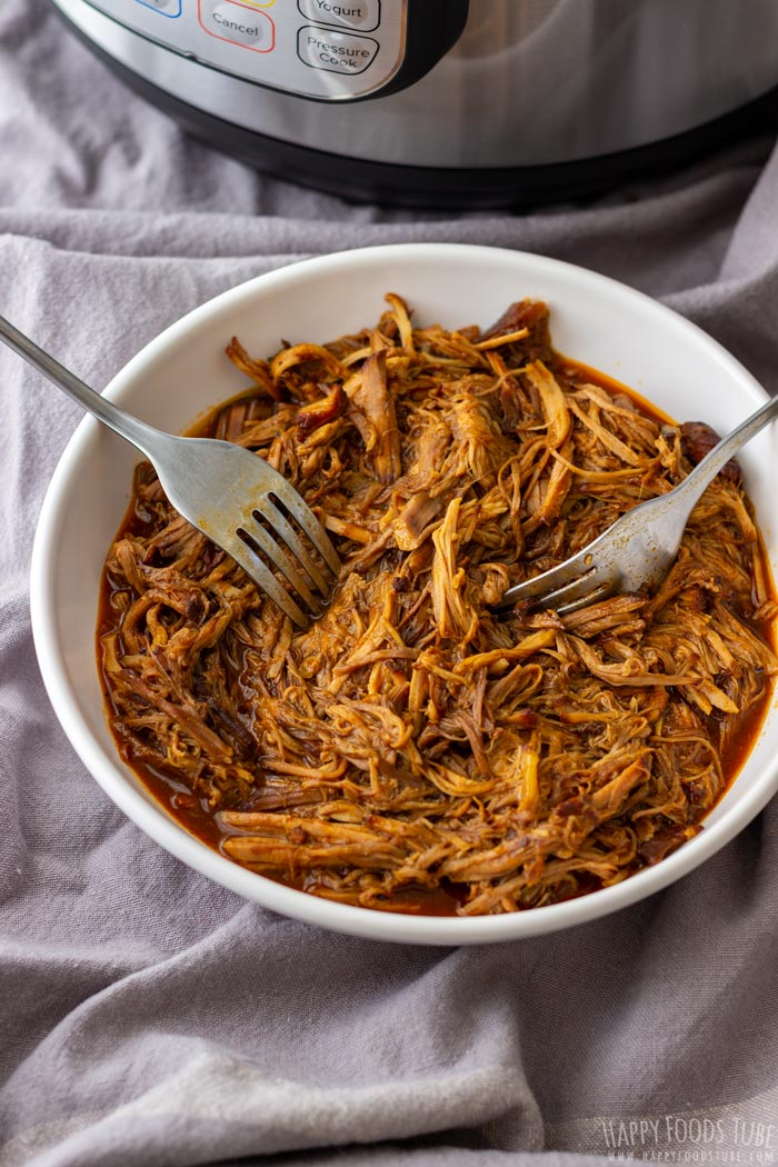 Tender Instant Pot Pulled Pork