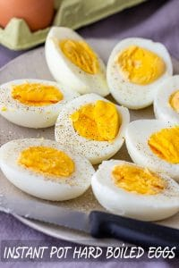 Easy Instant Pot Hard Boiled Eggs Recipe