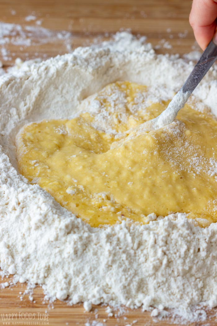 How to make Homemade Pasta Dough Step 2