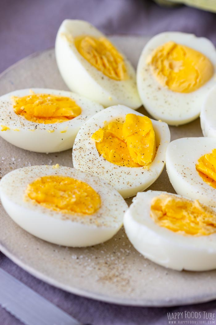 Instant Pot Pressure Cooker Hard Boiled Eggs