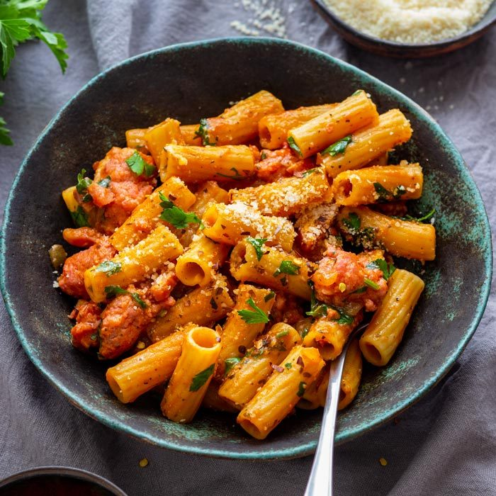 One Pot Sausage Pasta