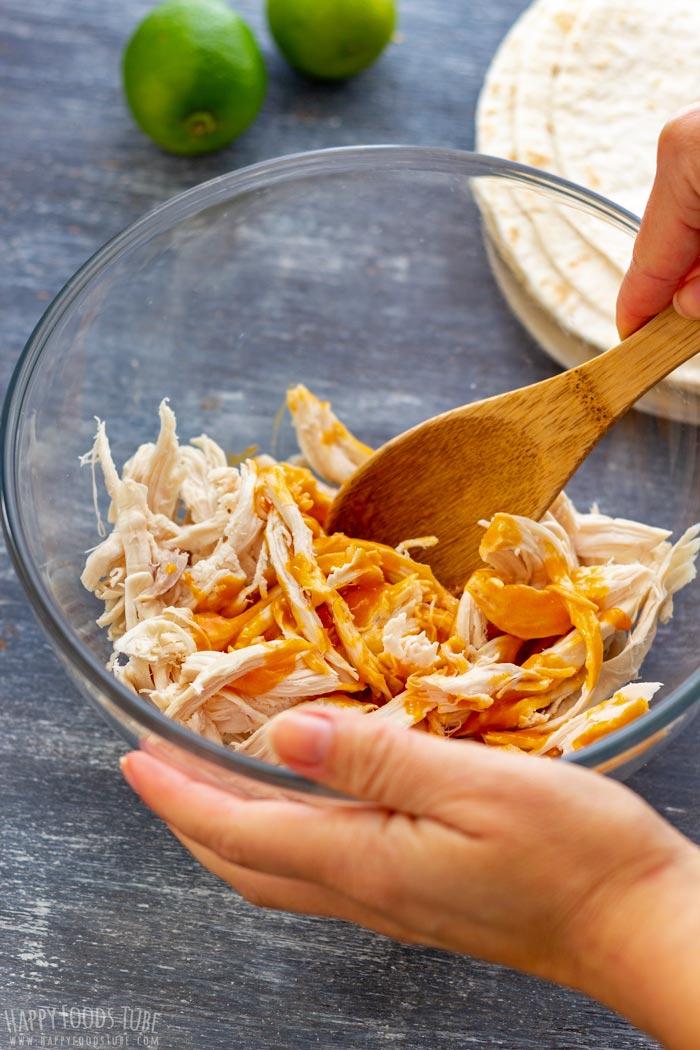 How to make Buffalo Chicken Tacos