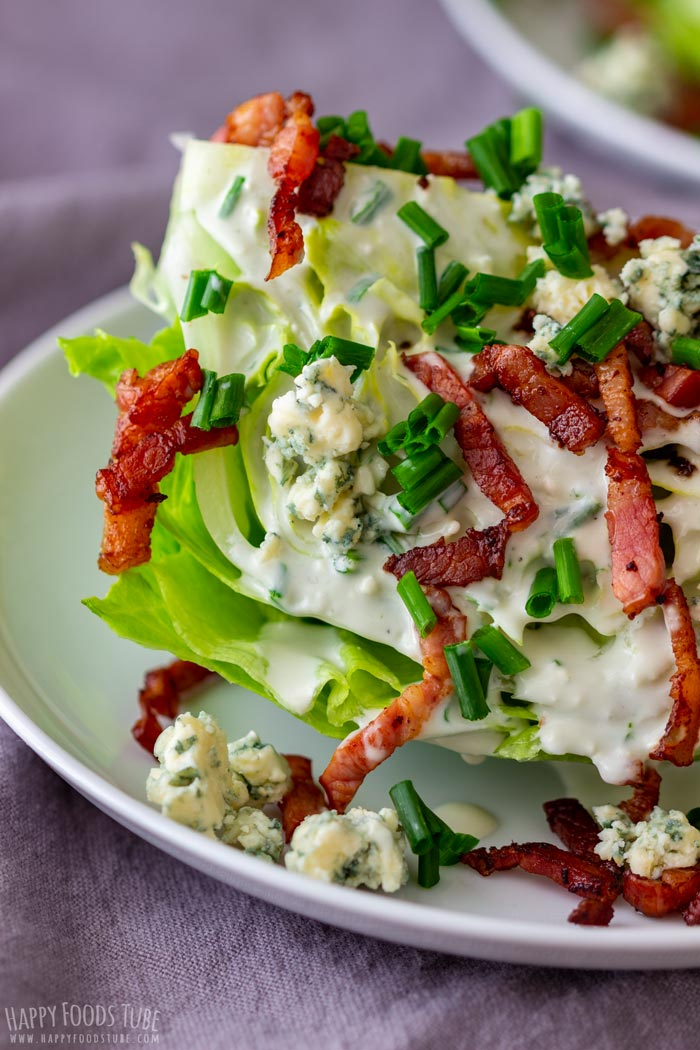 Wedge Salad Closeup