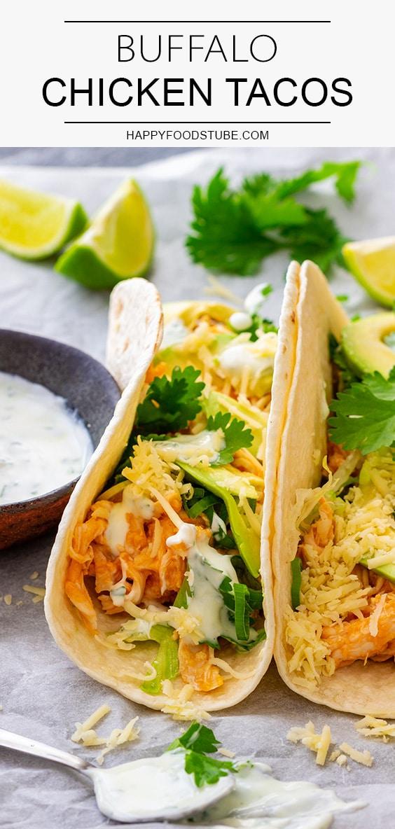 Best Homemade Buffalo Chicken Tacos Recipe