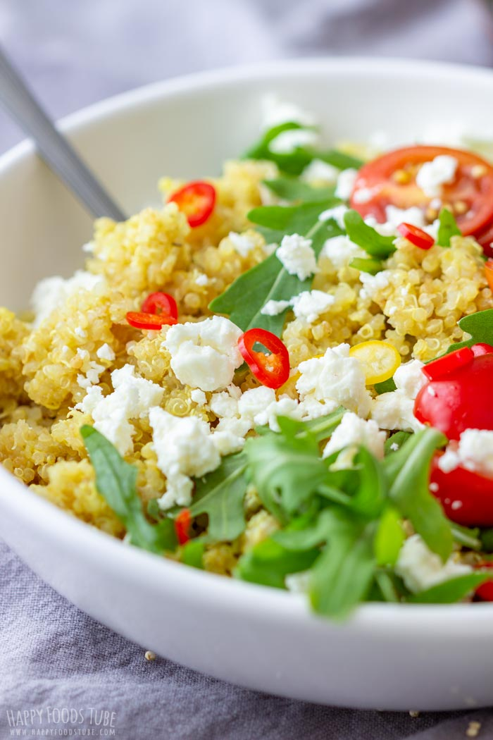 Healthy Cold Quinoa Salad