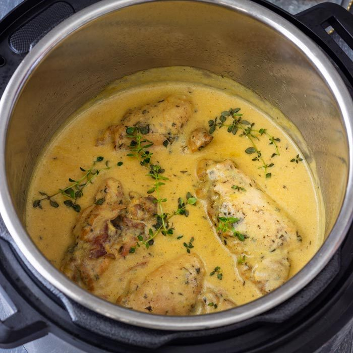 Instant Pot Honey Mustard Chicken