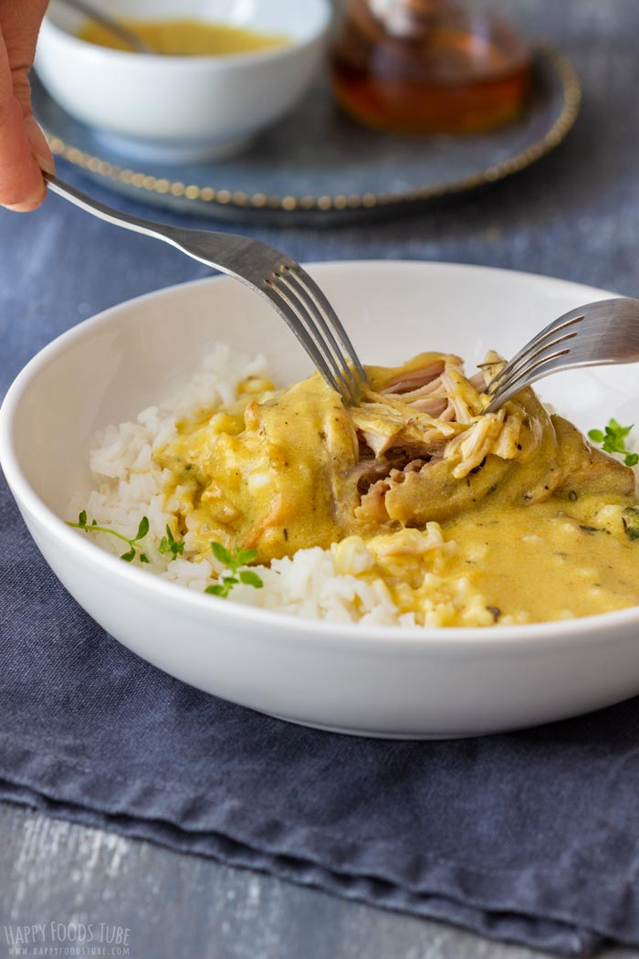 Instant Pot Honey Mustard Chicken with Rice