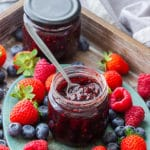 Instant Pot Pressure Cooker Mixed Berry Jam Recipe