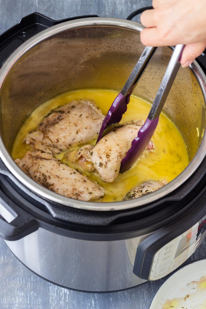 Step by Step How to Make Instant Pot Honey Mustard Chicken 2